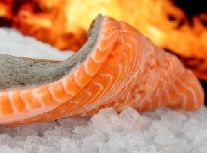 Filet de saumon au vinaigre balsamique