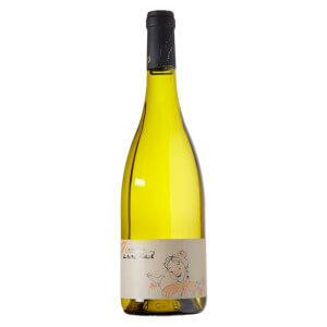 bouteille de vin blanc, appelé saint véran