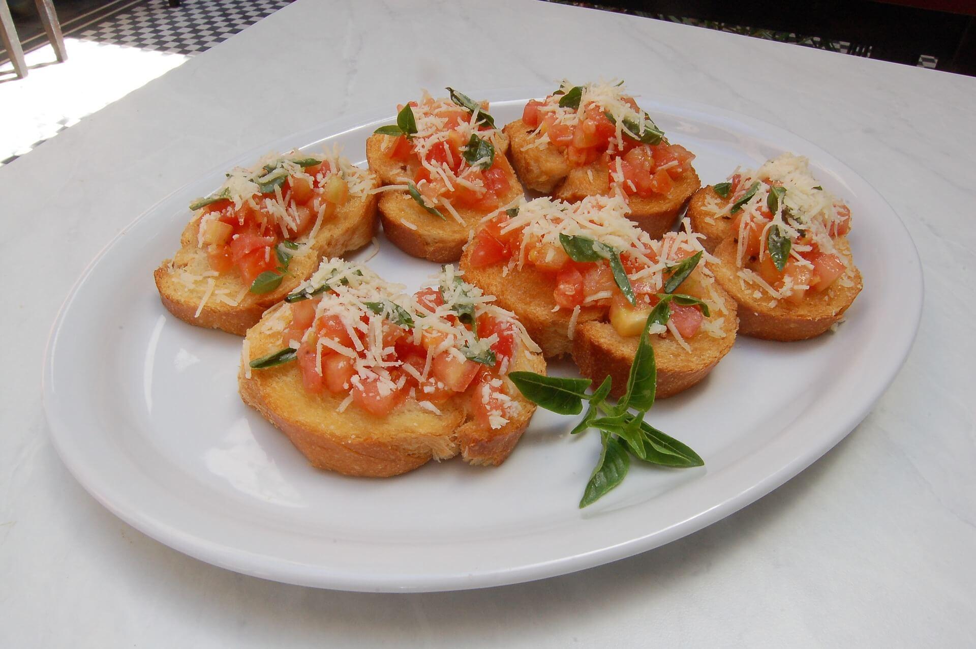 Toast : Pa amb tomaquet, tartine de pain.