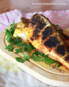 Bar croustillant à la pâte de curry